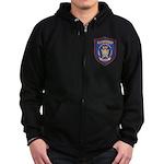 Portsmouth Police Zip Hoodie (dark)