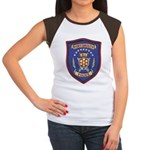 Portsmouth Police Women's Cap Sleeve T-Shirt