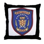 Portsmouth Police Throw Pillow