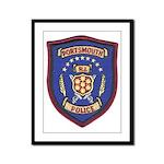 Portsmouth Police Framed Panel Print