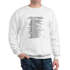 Comparative Religion Censored Sweatshirt
