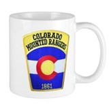 Colorado Mounted Rangers Small Mug