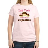 Lab Tech Cupcake T-Shirt