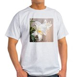 Easter Lily Ash Grey T-Shirt