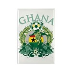 Ghana Soccer Rectangle Magnet