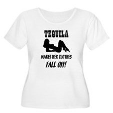 Tequila Makes Her Clothes Fal T-Shirt
