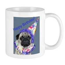 Cute Pug birthday Mug