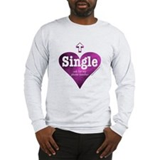 Single (Pink) Long Sleeve T-Shirt