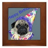 Cute 50 birthday Framed Tile