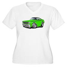 Duster Lime-Black Car T-Shirt