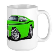 Duster Lime-Black Car Mug