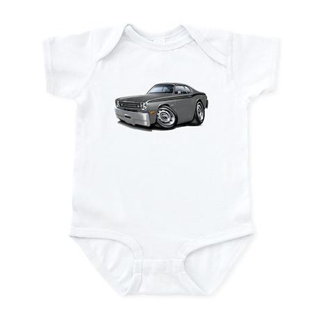 1970-74 Duster Grey-Black Car Infant Bodysuit