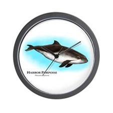Harbor Porpoise Wall Clock