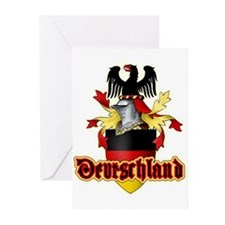 Deutschland Greeting Cards (Pk of 10)