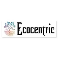 Cute Ecologic Bumper Sticker
