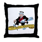 11th Bomb Squadron Throw Pillow