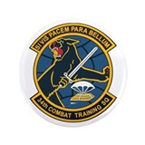 "34th Combat Training Squadron 3.5"" Button (100 pac"