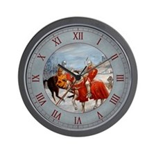 Perceval's Trance Wall Clock