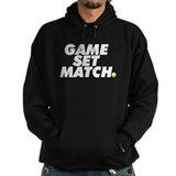 game set match Hoody