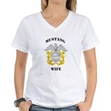 Blue Mustang Wife Shirt