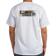 """""""The Soul Of The Dog"""" Ash Grey T-Shirt"""