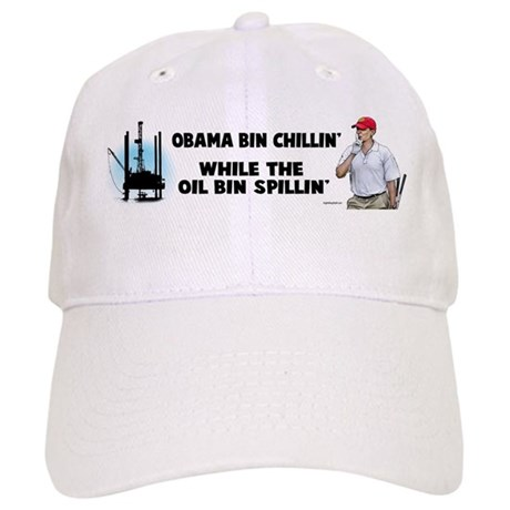 Obama bin chillin' Cap