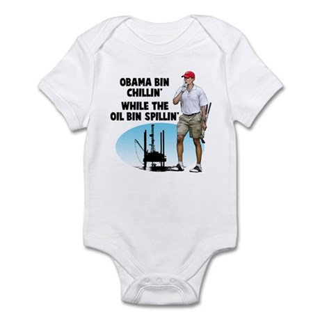 Obama bin chillin' Infant Bodysuit