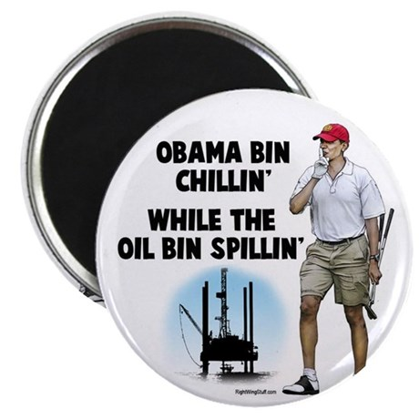 "Obama bin chillin' 2.25"" Magnet (100 pack)"