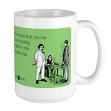Binder Clips Large Mug