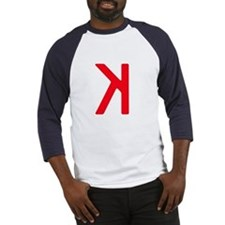 Strikeout Looking (backwards K) Baseball Jersey