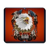 Eagle_Dreamcatcher Mousepad