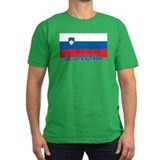 Slovenian Flag (labeled,colors) T