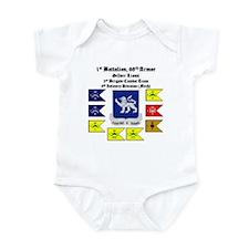 Guidons w/STT Infant Bodysuit