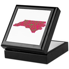 NC Cities Keepsake Box