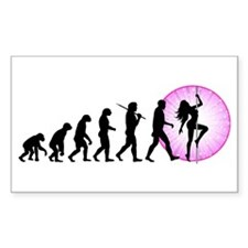 Pole Dancing Decal