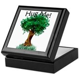 """Tree Hugger"" Keepsake Box"