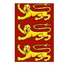 Plantagenet Lions Postcards (Package of 8)