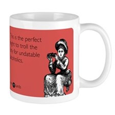 Undatable Alcoholics Small Mug