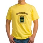 Riverside County Libertarian Yellow T-Shirt