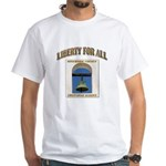 Riverside County Libertarian White T-Shirt