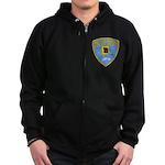 Ketchikan Police Zip Hoodie (dark)