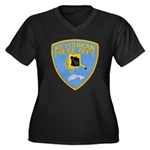 Ketchikan Police Women's Plus Size V-Neck Dark T-S