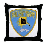 Ketchikan Police Throw Pillow