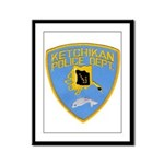 Ketchikan Police Framed Panel Print