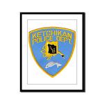 Ketchikan Police Framed Panel Print