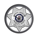 Phillips County Sheriff Wall Clock