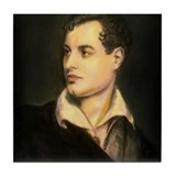 Isn't it Byronic? Tile Coaster