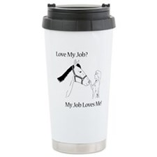 Love My Job Equine Travel Mug