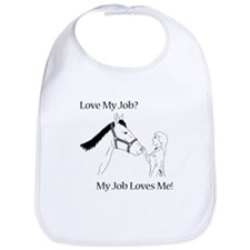 Love My Job Equine Bib