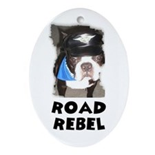 ROAD REBEL Oval Ornament